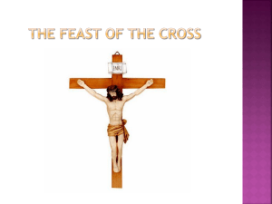 The feast of the cross - St. Mary Coptic Orthodox Church