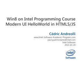 IntelAcademic_Win8_04_Modern_HelloWorld