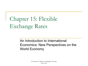 Chapter 15 - An Introduction to International Economics
