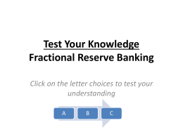 Test Your Knowledge interactive - Federal Reserve Bank of Atlanta