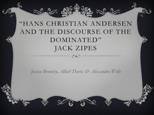 Hans Christian Andersen and the Discourse of the Dominated* Jack