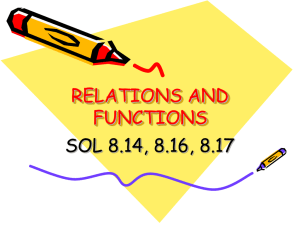 Relations and Functions (ppt)