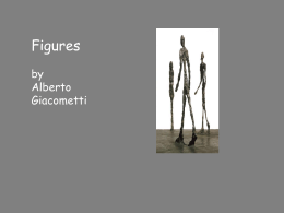 Figures by Alberto Giacometti and Antony Gormley