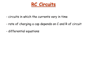 RC Circuits - McMaster Physics and Astronomy