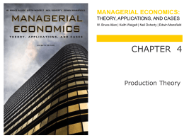 managerial economics - WW Norton & Company