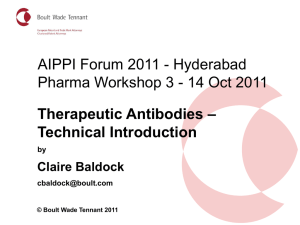 Claire Baldock, technical intro