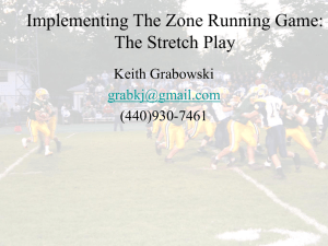 Outside Zone - Keith Grabowski