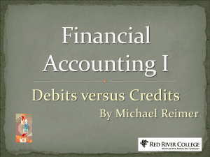 The Basics of Accounting
