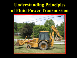 Understanding Principles of Fluid Power Transmission Objectives