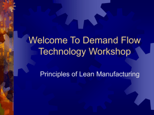 Demand Flow Technology and TAKT