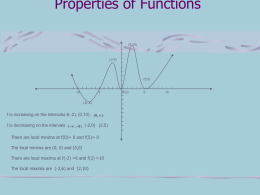 Function Properties
