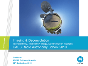 Imaging & Deconvolution Interferometry, VisibilitiesImage