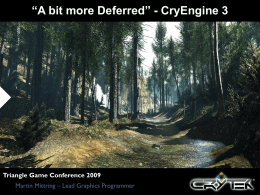 """""""A bit more Deferred"""" - CryEngine 3"""
