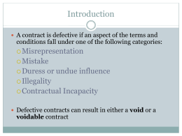 Lesson 7 1 outline lesson 7 6 defectivecontracts platinumwayz