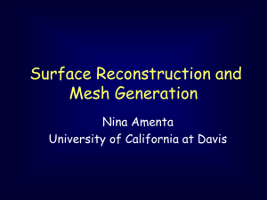 The Power Crust Algorithm for Surface Reconstruction