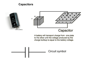 Capacitors - Kelso High School