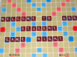 R U Ready for Scrabble?