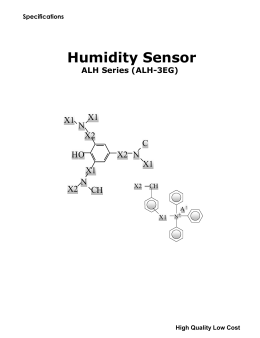 Humidity Sensor ALH Series
