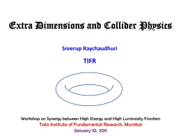 ppt - Tata Institute of Fundamental Research