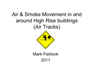 Air Movement - High Rise Fire