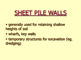 SHEET PILE WALLS - spin.mohawkc.on.ca