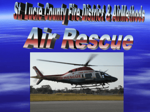 Helicopter Landing and Safety – St. Lucie