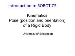 Robot Transformations