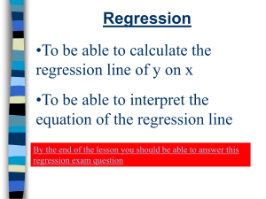 S1 Regression