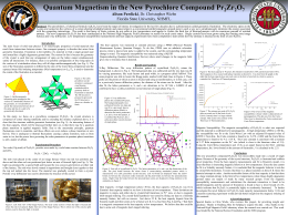 Quantum Magnetism in the New Pyrochlore Compound Pr2Zr2O7