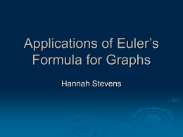 Applications of Euler`s Formula