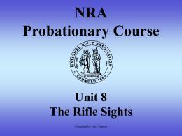 NRA Probation Course Part 8