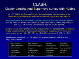 CLASH: Cluster Lensing And Supernova survey with Hubble