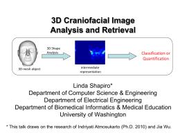 3D Craniofacial Analysis - Computer Science & Engineering