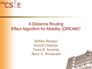 A Distance Routing Effect Algorithm for Mobility (DREAM)*
