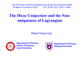 YongLong Wang