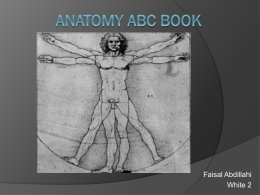 Faisal`s Anatomy ABC Book