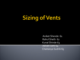 vent sizing - UCSB College of Engineering