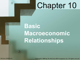 Macroeconomics Chapter 10 Final PPT