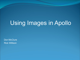 Click here to the Apollo image configuration intructions.