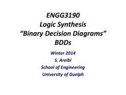 Lecture Notes on ``Binary Decision Diagrams`` (PPT Slides)