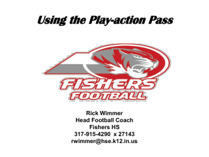 Using the Play-action Pass