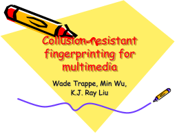 Collusion-resistant fingerprinting for multimedia