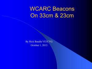 WCARC 33cm and 23cm Beacons by Rick Bandla VE3CVG