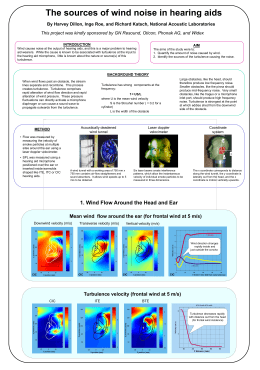 Wind noise causes poster - National Acoustic Laboratories