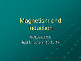 Y13 Magnetism and Induction