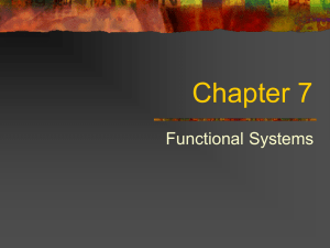 More Functional Systems (17)