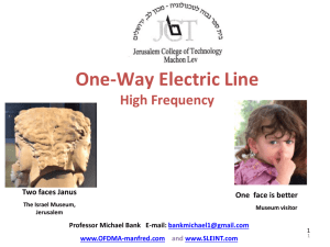 B-Line High Frequency - Professor Michael Bank