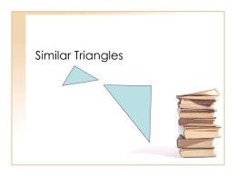 PPT: Similar Triangles