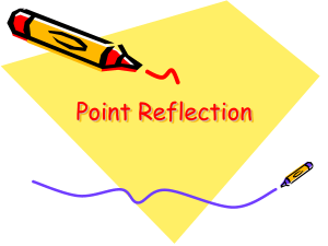 Point Reflection - Camden Central School