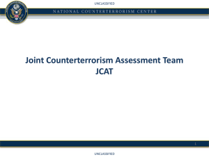 Joint Counterterrorism Assessment Team